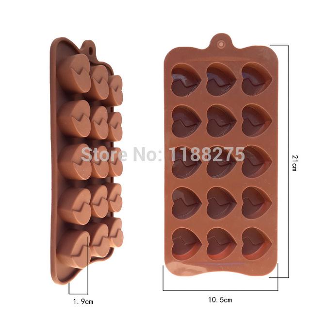 Handmade diy chocolate mold sweet kiss Love silicone cake mold(China (Mainland))