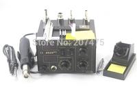 SAIKE 852D++ Iron Solder Soldering Hot Air Gun 2 in 1 Rework Station 220V 110V Upgraded fron SAIKE 852D++