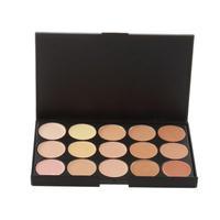 1 PCS 15 Color Neutral Makeup Eyeshadow Camouflage Facial Concealer Palette