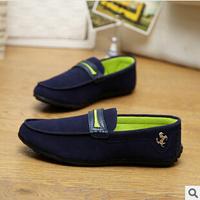2014 men's sneakers breathable leisure lazy men's shoes driving shoes flat shoes 108