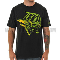 Hot Fashion Troy Lee Designs Black neno 2014 Sam Hill T-Shirt Offroad Cycling Bicycle cycle Bike Sports TLD Short for Summer