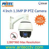 4inches 960P Full HD 1.3Megapixel 10X Zoom H.264 onvif 2.2 Mini IP PTZ Camera Pan Tilt Zoom HD-IP Speed Dome Camera