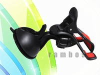 Suction Cup Car Mobile Cell Phone Holders Stands for iPhone 5 5S, Support 360 Degree Rotation