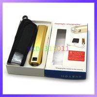 High Capacity 11000mAh Mini Power Bank with Bright Light LED Flashlight for iPhone Samsung