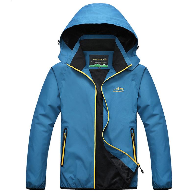 2014 autumn and winter outdoor ski jacket male clothing fashion wind and rain jacket(China (Mainland))
