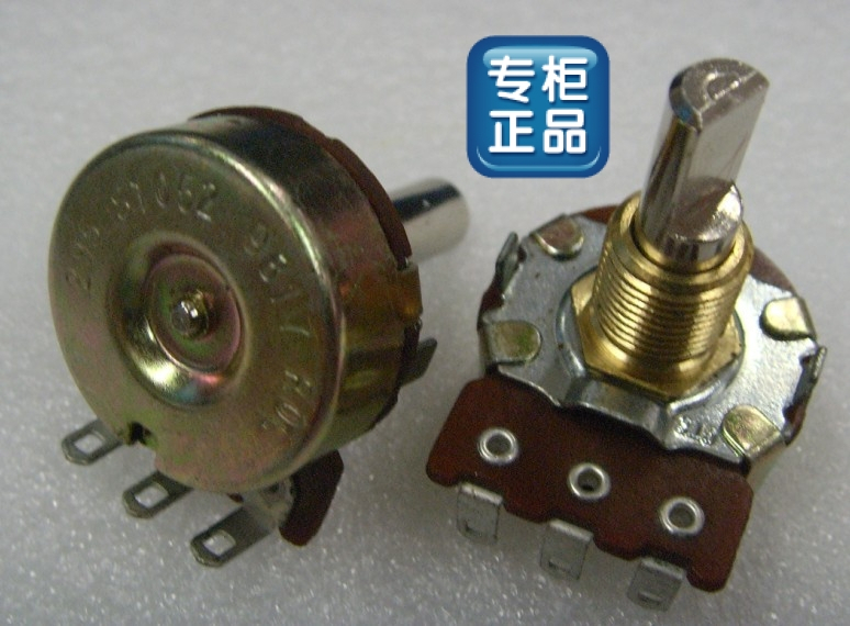 [BELLA]Imports of U.S. CTS volume electric guitar enthusiasts dedicated long life potentiometer 5K20F--10PCS/LOT(China (Mainland))