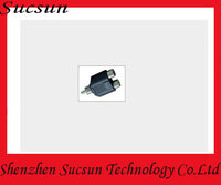 New RCA AV Audio Y Splitter Plug 1 Male to 2 Female Adapter AV Audio Splitter Adapter, M to 2 F adapter