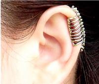 Free Shipping  The Punk Style Skull Ear Bones Clip Earrings A ps price 6pcs/lot