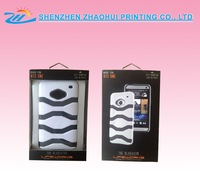 Customized cell phone case paper packaging box