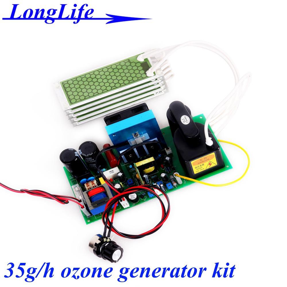 LF-22035FOT, AC220V/AC110V 35g/h DIY Ceramic plate type ozone generator kit for air purifier Prevention of avian influenza(China (Mainland))