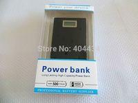12000mah power bank long lasting high capacity power bank emergency external battery backup lcd screen display charger 10pcs