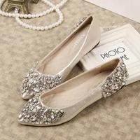 Women Diamond Flats Shoes Woman New 2014 Summer Brand Casual Sapatos Femininos Round Toe Ballet Ballerina Sandals DGPD1101