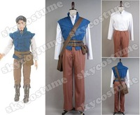 Tangled Prince Flynn Rider Eugene Fitzherbert Outfit Cosplay Costume