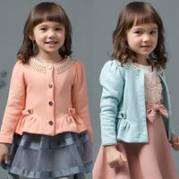2014 New Arrival Long Sleeve T-Shirt Girls Frozen T Shirt For Beautiful Little Girls Free Shipping