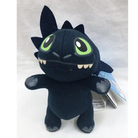 50pcs/lot New 7 inches How to Train Your Dragon Plush Toy Stuffed Doll Toys Hot free shipping