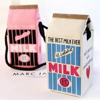 olympia 2014 latest stereoscopic milk box milk handbag mini bag female Shoulder Bag Day Clutches messenger bag