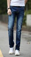 Fashion Designer Demin Pants, Man Jeans ,Brand jeans men, Green Cotton Summer Jeans