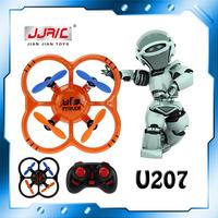 Free Shipping JJRC Nano Quadcopter with Mini Controller U207 2.4G Remote Control Quadcoptero with 6-Axis Gyro vs V272 Hubsan Q4