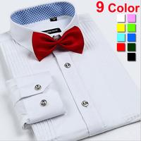 Brand Designed Men Shirt 2014 Mens Dress Shirts long Sleeve Fashion Man Clothing Solid Camisas Masculina Slim Fit Plus Size 4XL