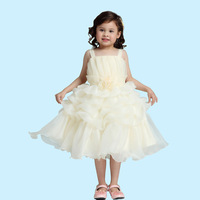 2014 New Free shipping Girls Cake Dress Stacking dress Suitable for children aged 2-7 Princess dress Wholesale Fashion