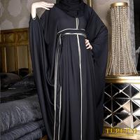 Hot sale Islamic embroidery women's abaya TK-513  Series(MOQ:1 Piece) ,(Abaya , Jilbab, muslim woman's cloth ,arabic cloth)