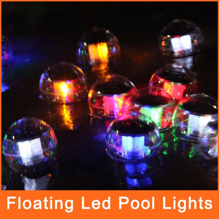 Solaire lampe flottante led piscine lumi res led pour for Eclairage noel exterieur led