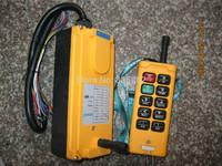 HS-10 Industrial Remote Control Crane Transmitter 10 keys 1 receiver+ 1 transmitter AC 380V 380VAC 1 transmitter+ 1 receiver
