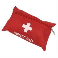 Mini first aid kit portable first aid bag red emergency bag