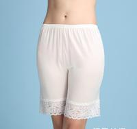 100% Silk Women Capris Panties Solid Color Soft Comfortable Healthy Silk Lightweight Panties