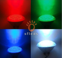 Hot saleAC12V 40Watts RGB PAR56 High Power LED Swimming Pool Light Underwater light free shipping
