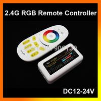 Wholesale 2.4G DC12V 24V 18A 4-Zone LED Wireless RF RGB Remote Controller for Strip