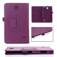 Galaxy Tab 4 7.0 T230 Tablet Litchi PU Leather Case Cover Stand For Samsung Galaxy Tab 4 7.0 T230 T231 Tablet Case