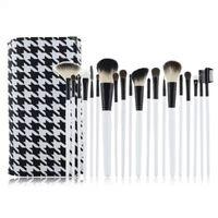 New arrival make up cosmetic makeup brush case set kit goat hair wool makeup brushes & tools professional
