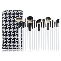 New arrival make up cosmetic makeup brush case set kit goat hair wool makeup brushes & tools professional