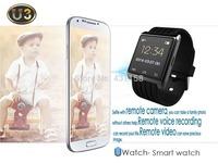 Digital Sports Watch Bluetooth Smart Watch Women Men Wristwatch U3 U Watch For Iphone Samsung Android Phone Smartphones