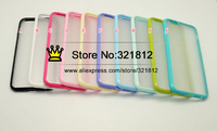 Dual Color Hybrid Case For Iphone 6 6G Air Iphone6 4.7'' Hard Plastic + Soft TPU Silicone Back Skin Cover 100pcs Free Shipping