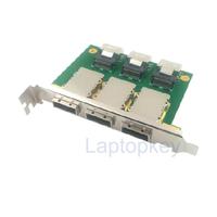SFF-8087 SFF-8088 Mini SAS PCI external rotation, the adapter plate