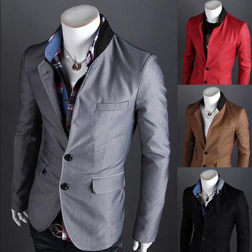 Blazer Casual Pria Casual Dress Bisnis Blazer