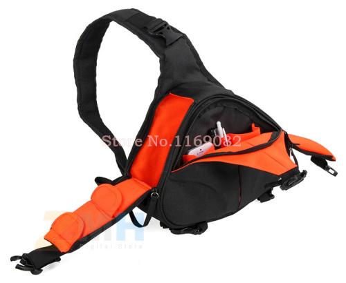 DSLR Shoulder Camera Bag Video Portable diagonal Triangle Carry Case foR Canon 600D D600 7D 5D2 60D Nikon D90 D60 D700 D7000(China (Mainland))