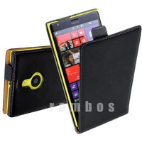 Luxury PU Leather Cover for Nokia Lumia 1520 Flip Cases Full Body Protector 1 Piece New Arrival