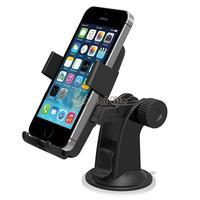 2014 New Arrival Universal Car Windshield Mount Cell Mobile Phone Holder Bracket Stands For Smartphone GPS #6 SV004216