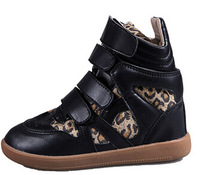 Free shippingHan edition of leisure female shoes Velcro higher in female boots with high single shoes for shoes tide35-39