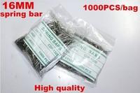 Wholesale 1000PCS / bag High quality watch repair tools & kits 16MM spring bar watch repair parts -4141T