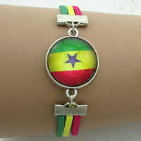 Ghana football team,2014 world cup bracelets,cuff bangles,silver-plated charm bracelets,buddhist jewelry,set jewelry,5pcs/lot