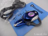 50 pcs DHL  New Good Quality  Mini Wireless Bluetooth Handsfree Stereo Headset Headphone Earphone Gift