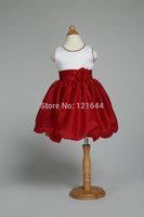 2014 New Free shipping Child Simple princess dress Children's costumes Lifestyle V-neck Dress Wholesale