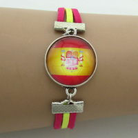 Spain Road To World Cup 2014,men's bracelet,designer jewerly men 2014,bracelet charms,5pcs free shipping by china air express