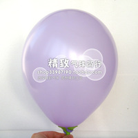 10  inch standard balloon light purple wedding 100