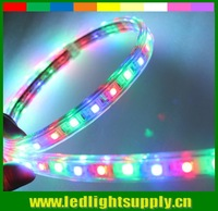 50meter spool~ 220V chasing effect RGB AC LED strip light 5050 smd fita flexible lamps waterproof ribbon rope lightings