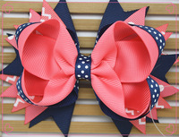 20 pcs wholesale for party  Girls baby hairclip bow    headwear for  free  shipping